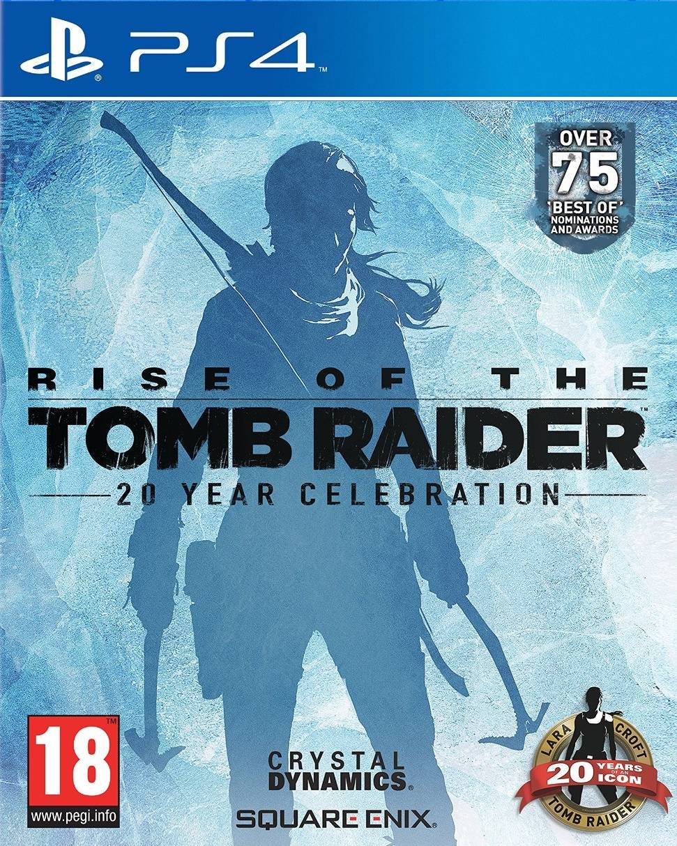 Square Enix Rise Of The Tomb Raider: 20 Year Celebration Ps4