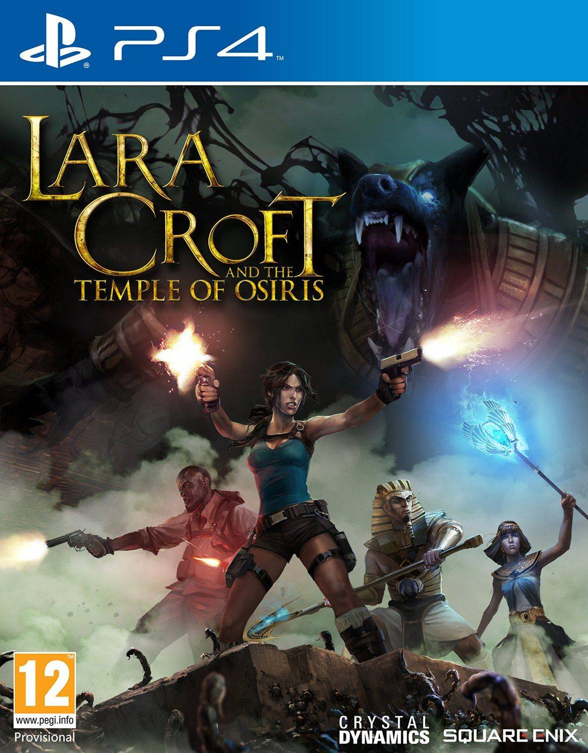 Square Enix Lara Croft And The Temple Of Osiris Ps4