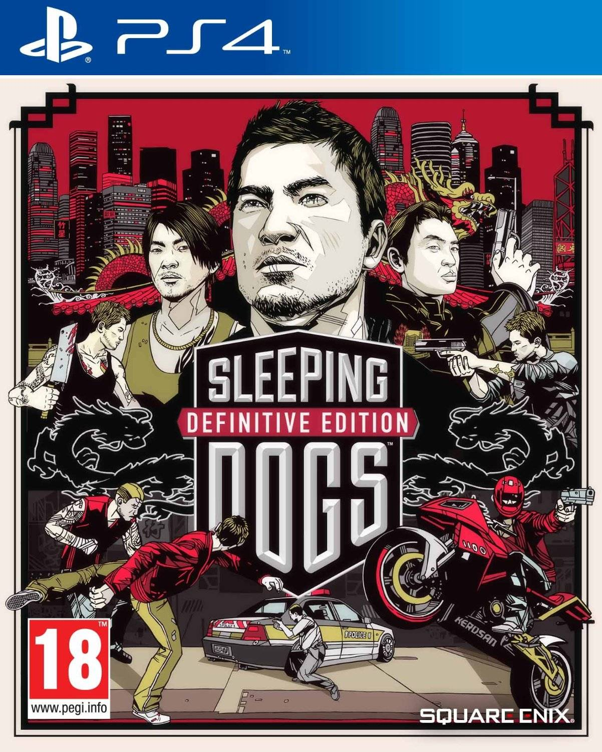 Square Enix Sleeping Dogs: Definitive Edition Ps4
