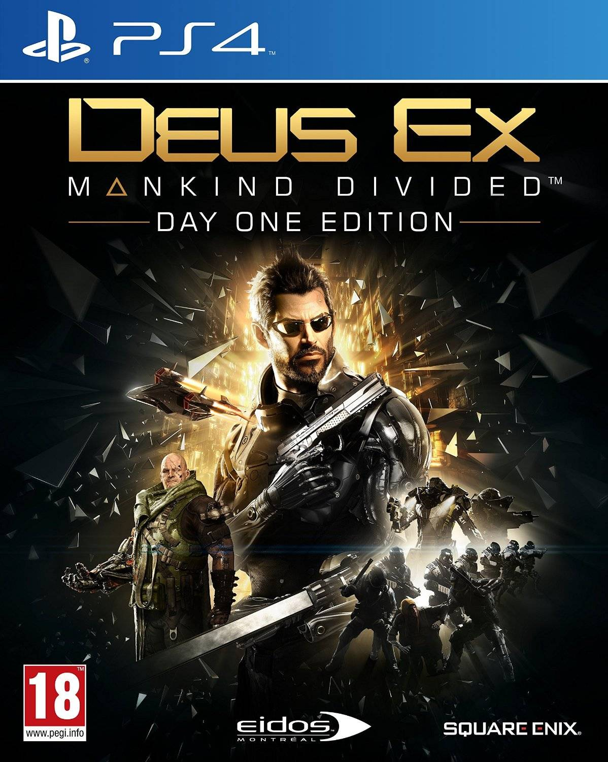 Square Enix Deus Ex: Mankind Divided Day One Ps4