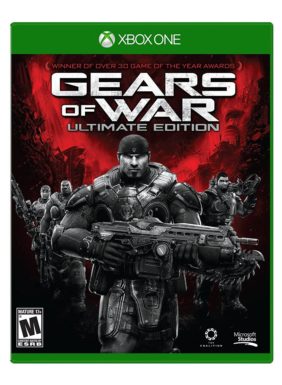 Microsoft Gears Of War Ultimate Ed Xbox One