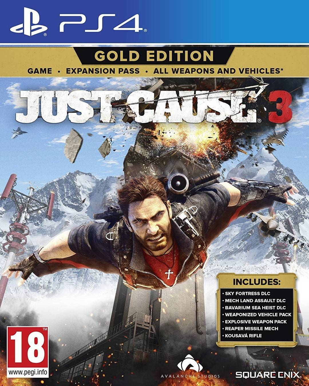 Square Enix Just Cause 3: Gold Edition + Expansion Pass