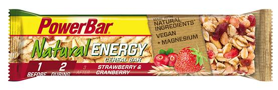 PowerBar Natural Energy Cereal Bar - Fraise & canneberge