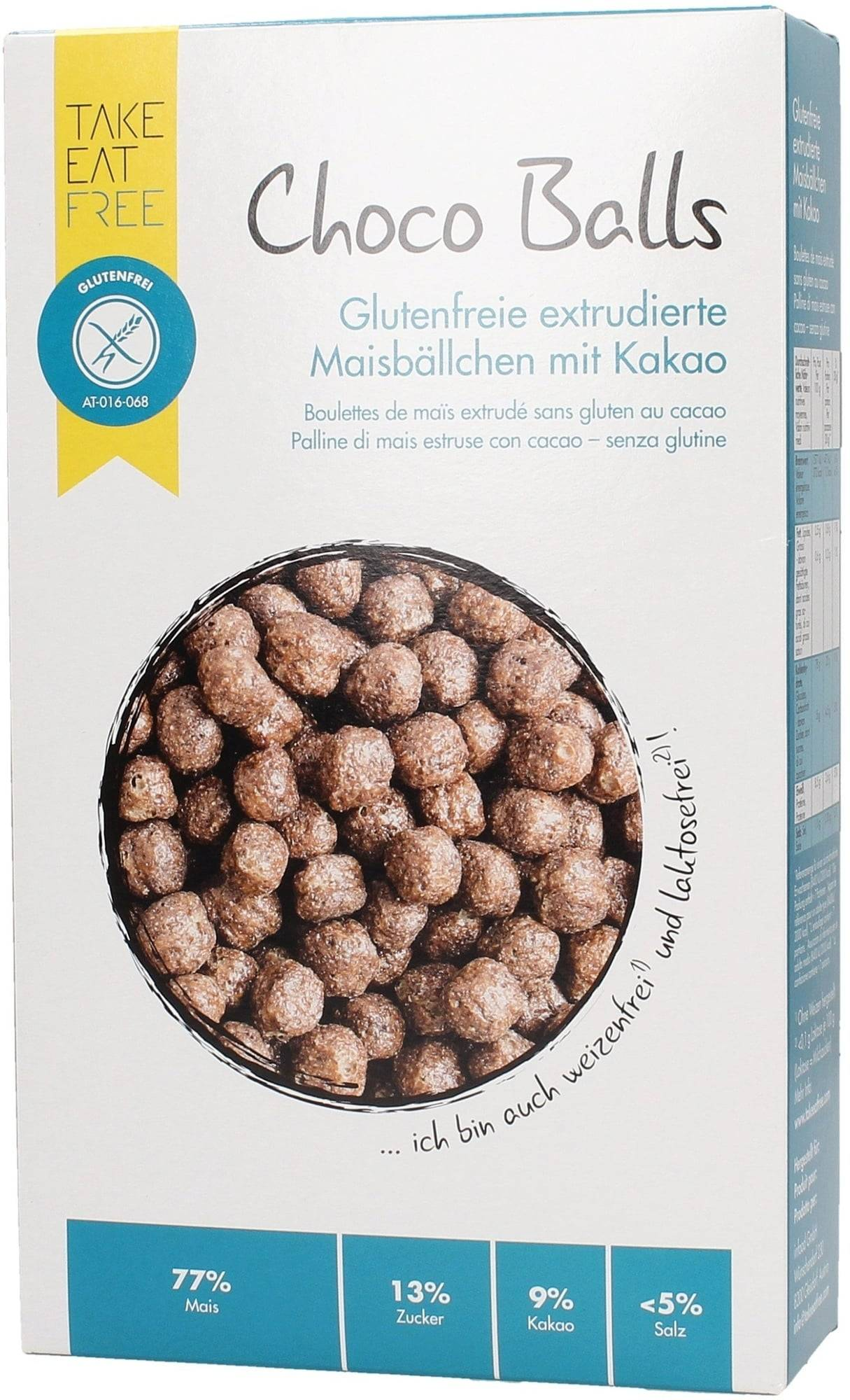 TAKE EAT FREE Billes de Chocolat sans Gluten - 200 g