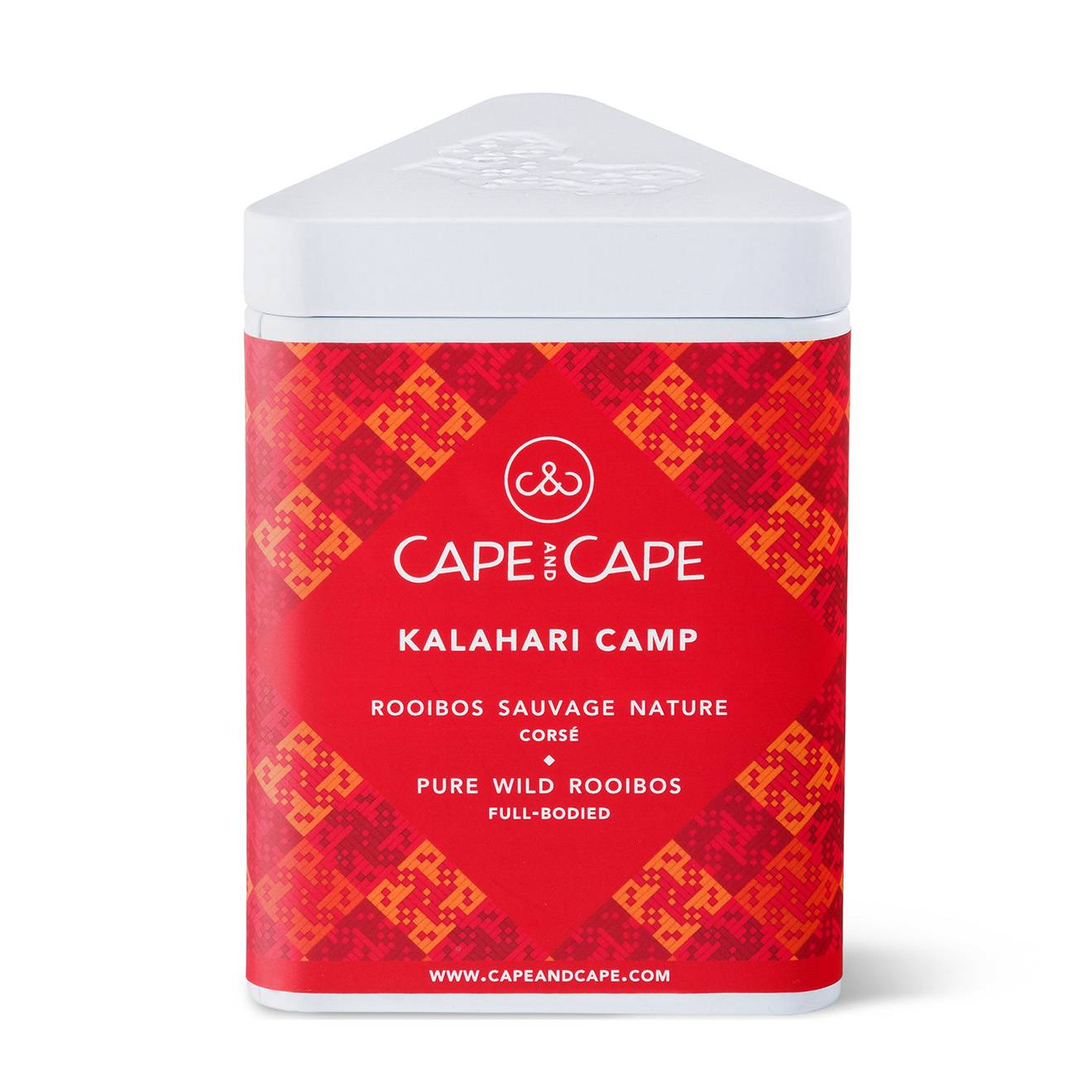 Cape & Cape - Rooibos nature Kahalari Camp - 100 gr