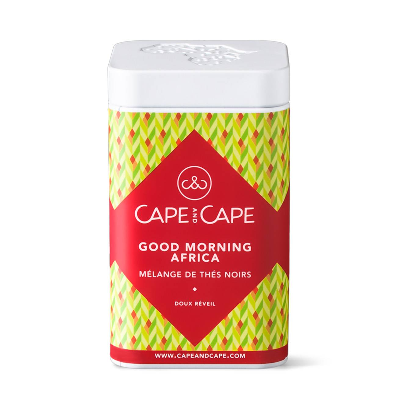 Cape & Cape - Thé nature Good Morning Africa - 100 gr