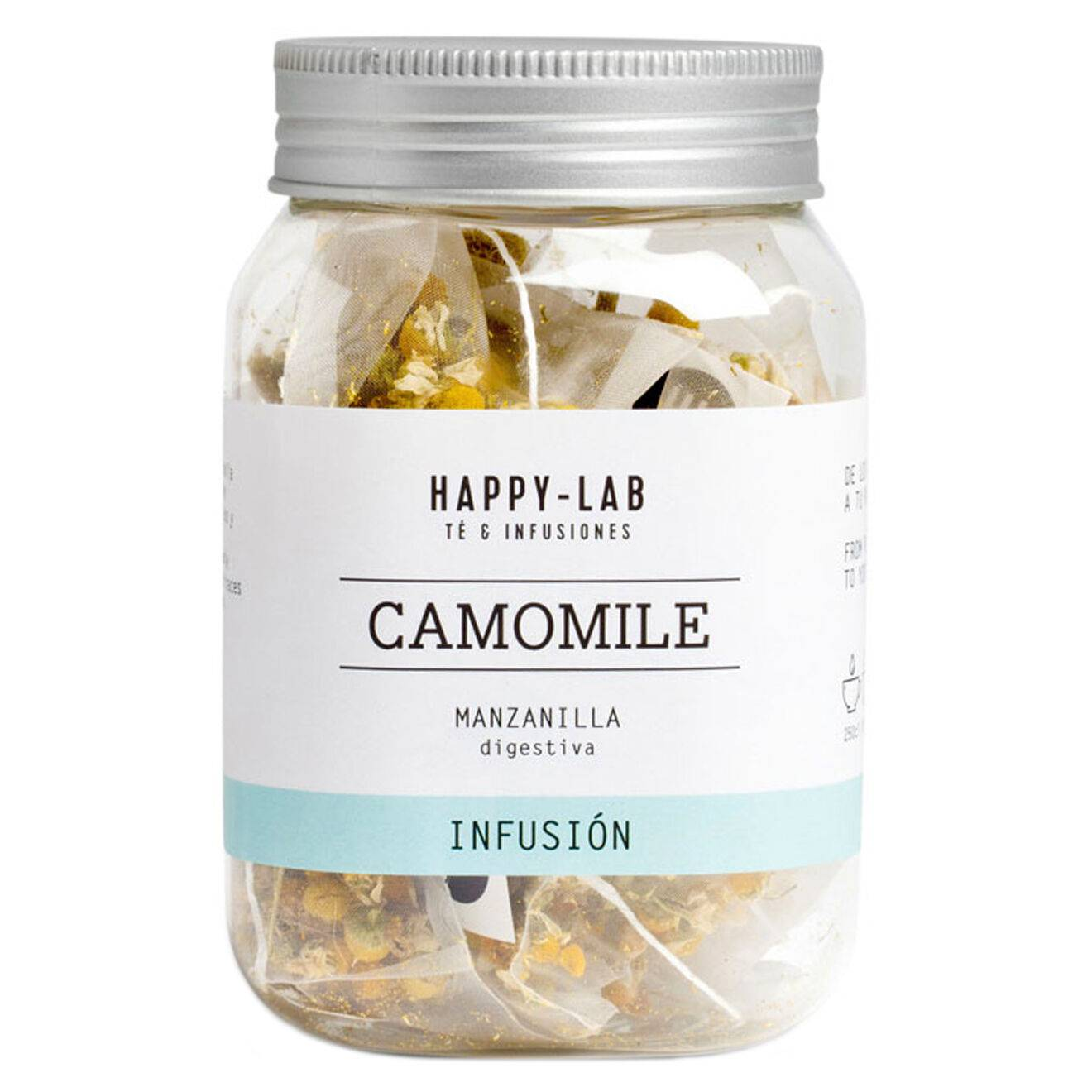 Happy Lab - Pot d'Infusion camomile - 14 sachets