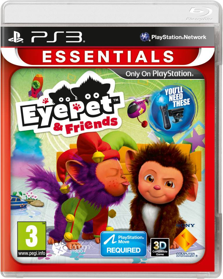 Sony EyePet and Friends: Essentials (PlayStation Move)