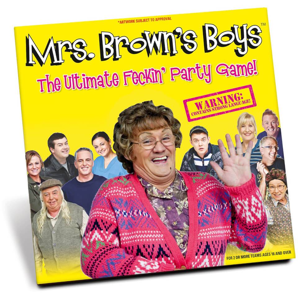 Mrs Brown's Boys Jeu Mrs Brown's Boys Party Game - Version 'Feck'