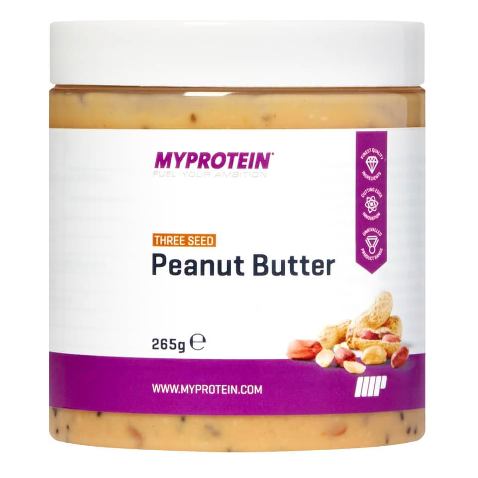 Myprotein Beurre de cacahuète Active Women - 265g - Jar - Three Seed