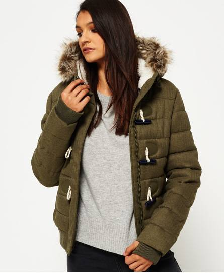 Superdry Veste Marl Toggle Puffle