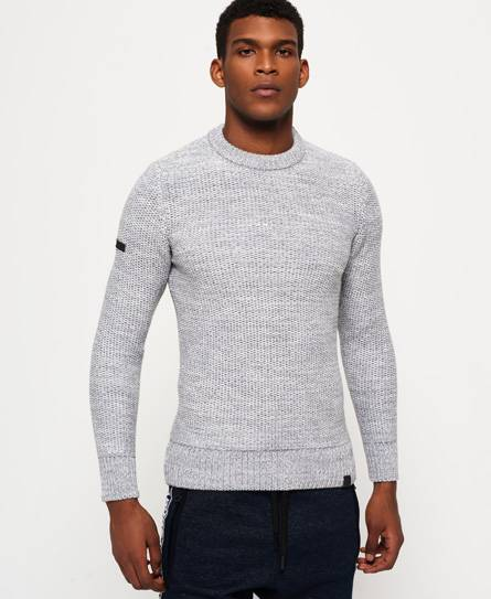 Superdry Pull à col rond Surplus Goods Open Twist
