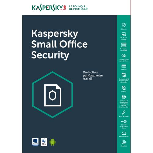 Kaspersky Small Office Security 10 Pc + 10 Mobile + 1 Server