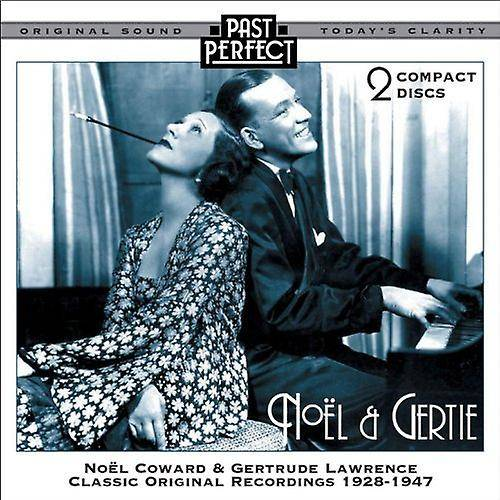 Past Perfect Noel et Gertie 2 CD : 20 s, 30 s, 40 s montrent des CD Audio de mus...