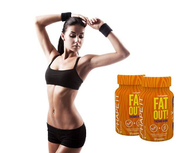Sensilab Fat Out! Thermo Burn 1+1 GRATUIT