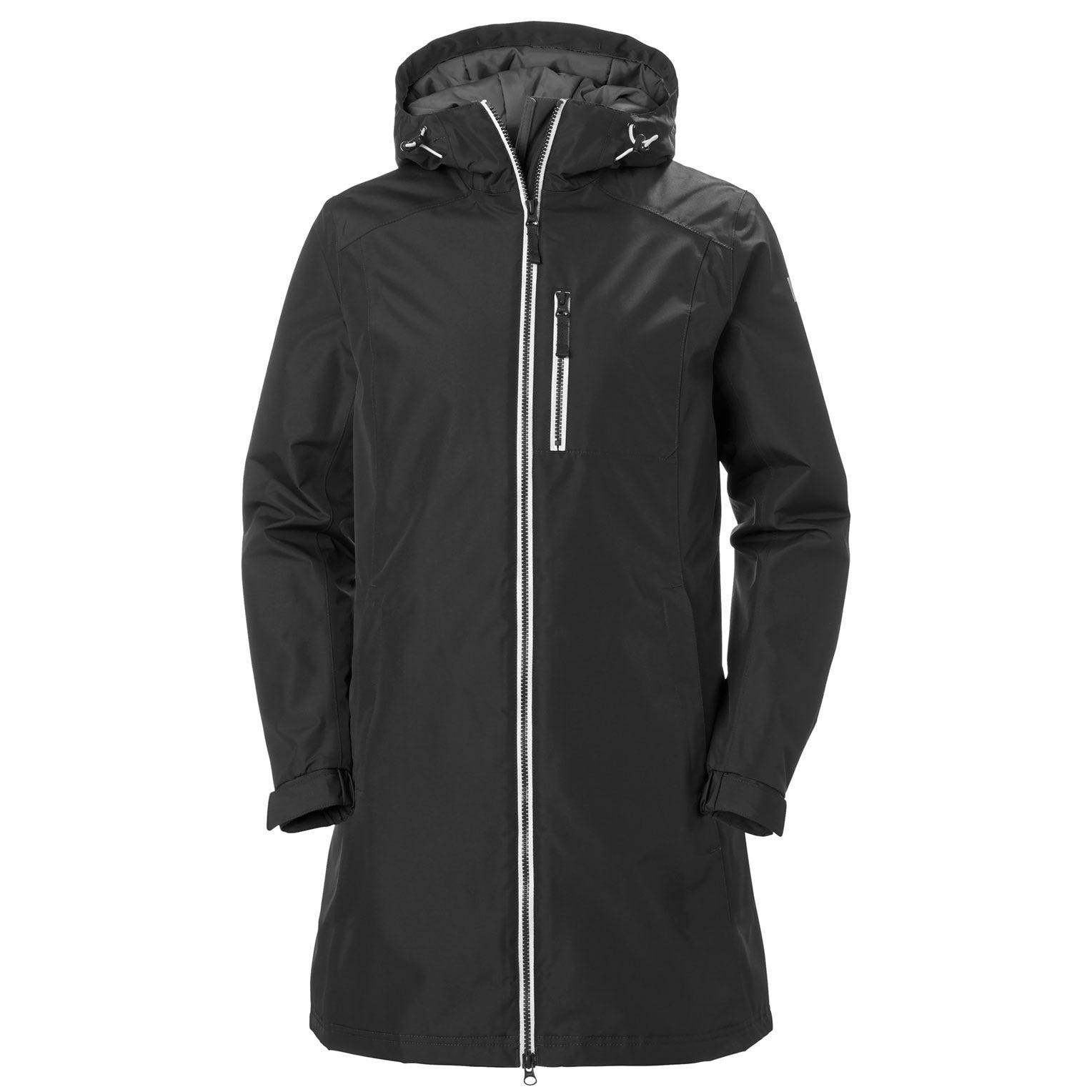 Helly Hansen Femme Long Belfast Winter Veste Parka Noir L