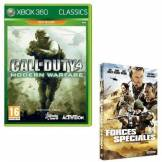 Call Of Duty 4 : Modern Warfare Classics + Dvd Forces Spéciales [Jeu Xbox 360] XBOX 360