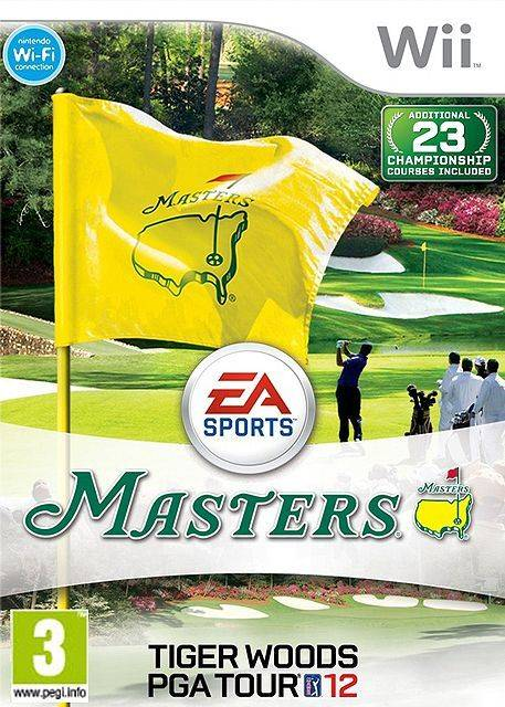 Tiger Woods Pga Tour 12 - Masters Wii