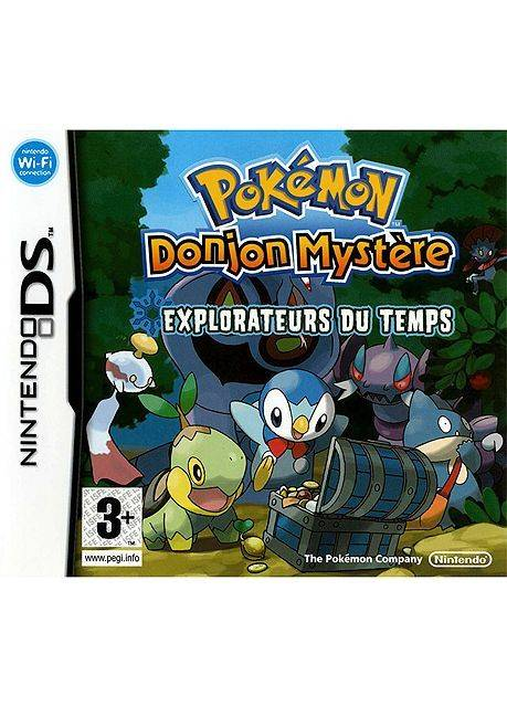 Pok�mon - Donjon Myst�re Explorateurs Du Temps Nintendo DS