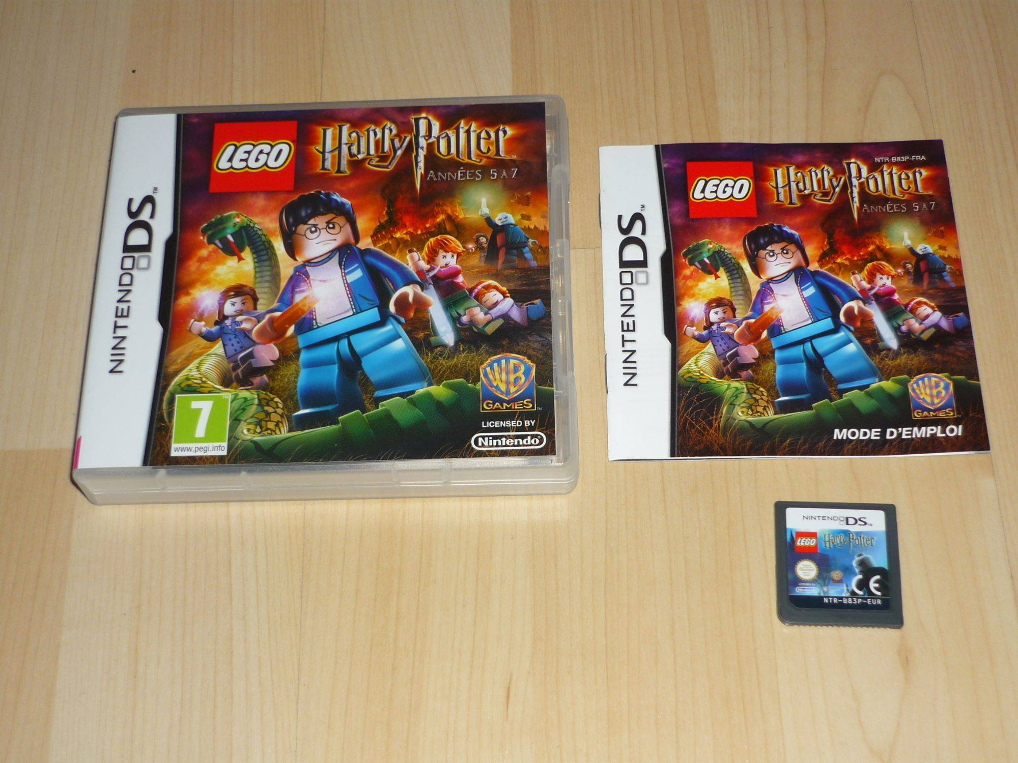 Lego Harry Potter - Ann�es 5 � 7 Nintendo DS