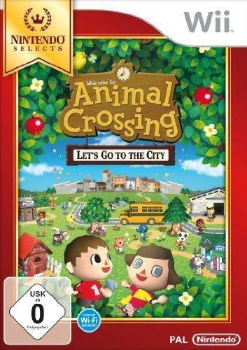Animal Crossing : Let's Go To The City - Nintendo Selects [Import Allemand] [Jeu Wii] Wii