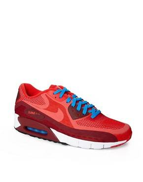 Nike - Air Max 90 Breathe - Baskets - Rouge
