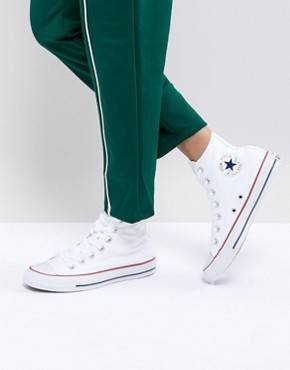 Converse - All Star - Baskets montantes - Toile blanche