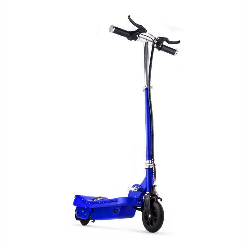 Takira Electronic Star V6 Trottinette Electrique Patinette LED bleu