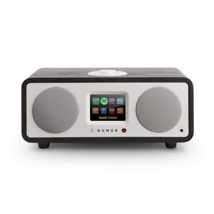 NUMAN One – 2.1 Radio Internet design Bluetooth Spotify Connect DAB/DAB+ -noir
