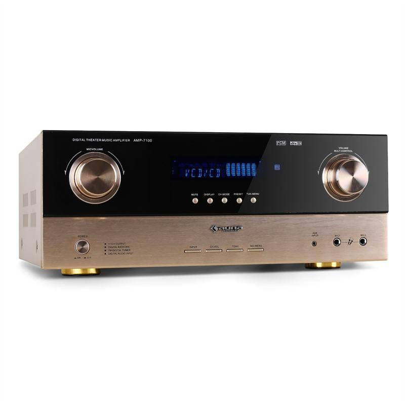 Auna ampli PA surround 7.1 5.1 home cinema hifi receiver AV