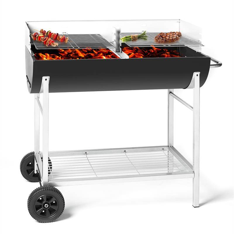 oneConcept GQ5-Beef Machine Barbecue charbon - RECONDITIONNE