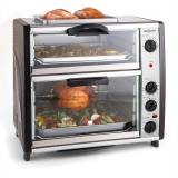 oneConcept All-You-Can-Eat Four double avec grill 42 litres