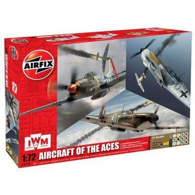 Airfix - Maquettes avions : Aircraft of the Aces Gift Set