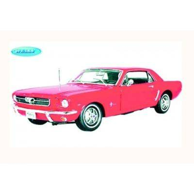 welly FORD MUSTANG COUPE ROUGE 1:24 - WELLY 3277270