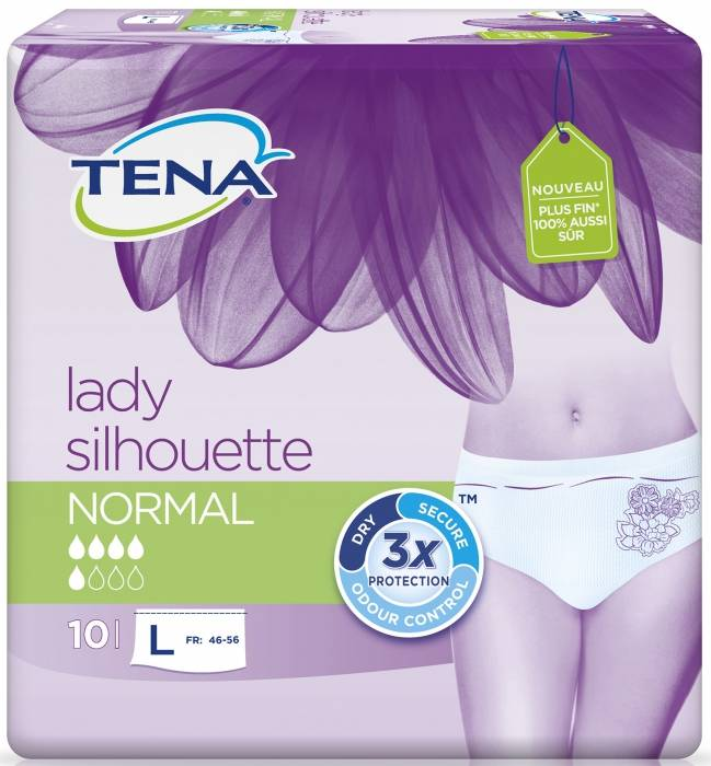 Tena Lady Silhouette Large Normal