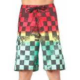 VANS Off The Wall Boardshort rasta scan check 3 / 18;16;US 14;US 12