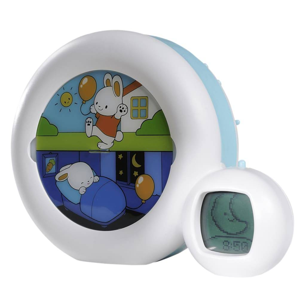 Claessens'Kids Indicateur de réveil Kid'Sleep Moon 22 x 6 17 cm Bleu
