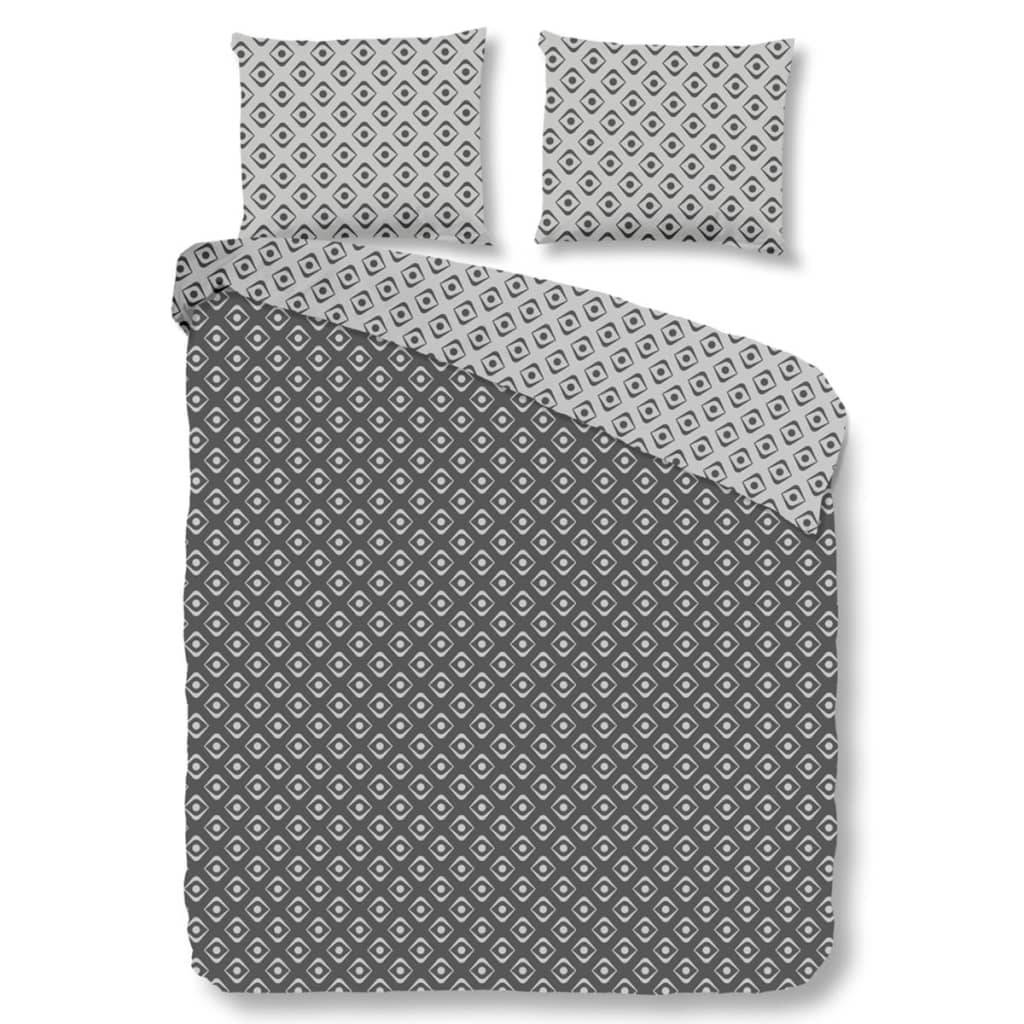Good Morning Housse de couette 5286-A PATTERN 135x200 cm Anthracite