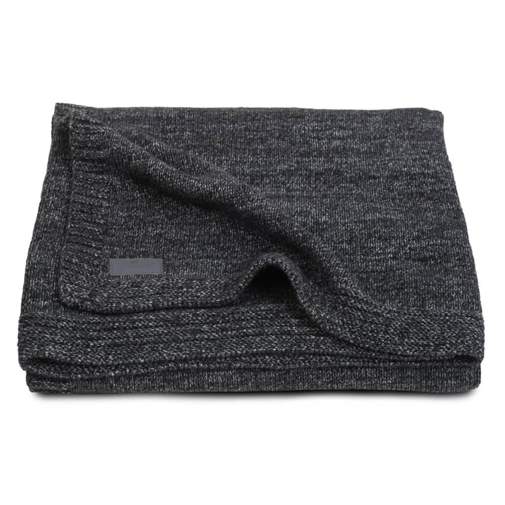 Jollein Couverture Tricot 75 x 100 cm Anthracite 511-516-65083