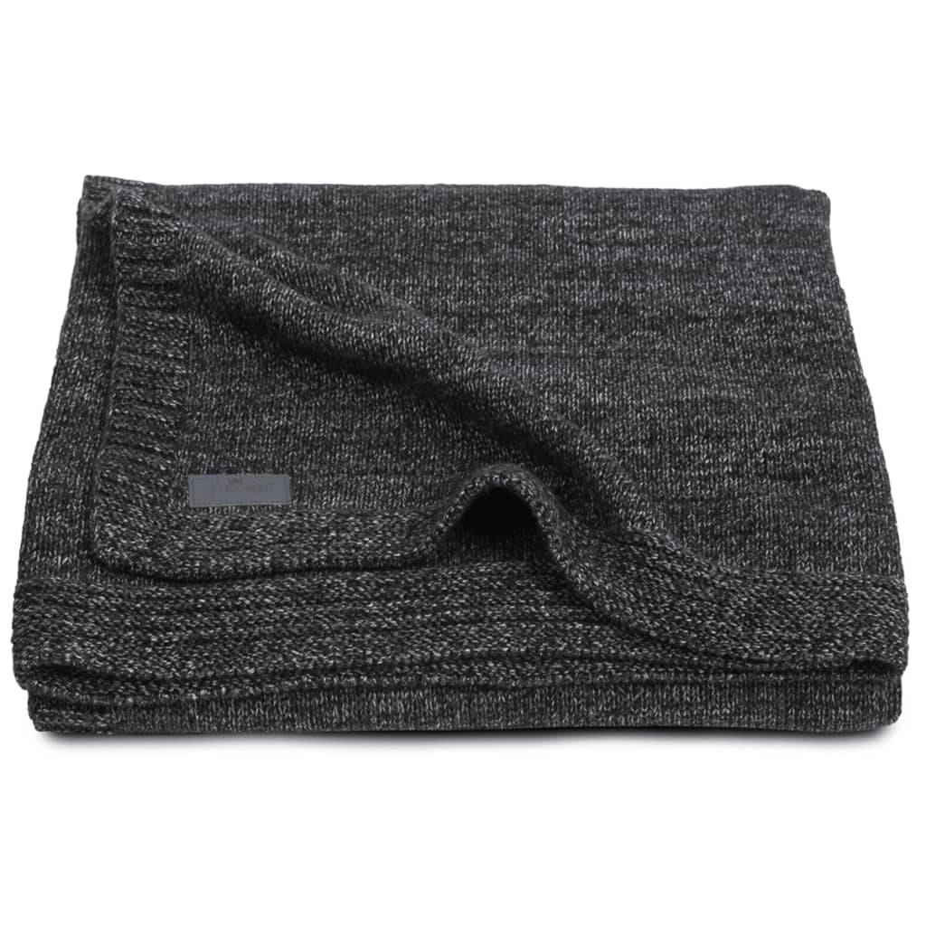 Jollein Couverture Tricot 100 x 150 cm Anthracite 516-522-65083