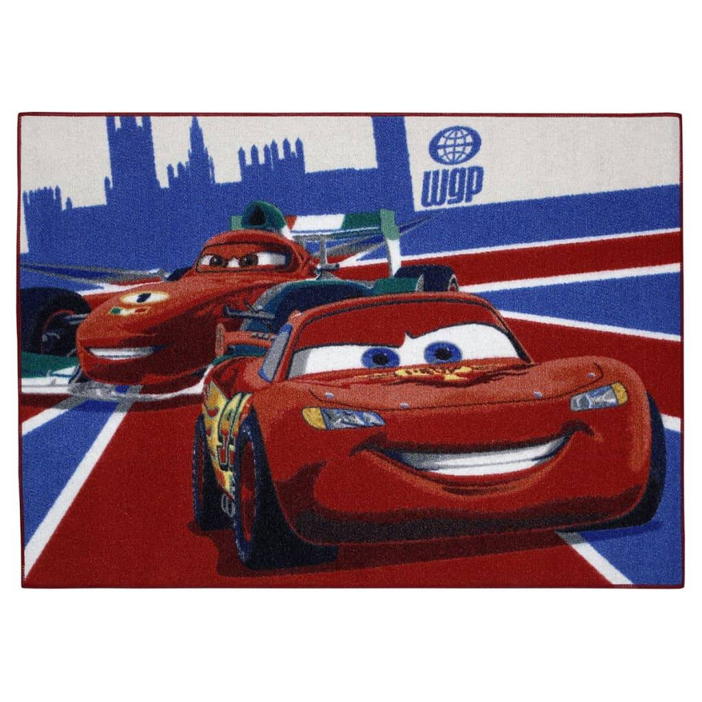 AK Sports Tapis de jeu Cars Lightning McQueen+Francesco 95 x 133 cm