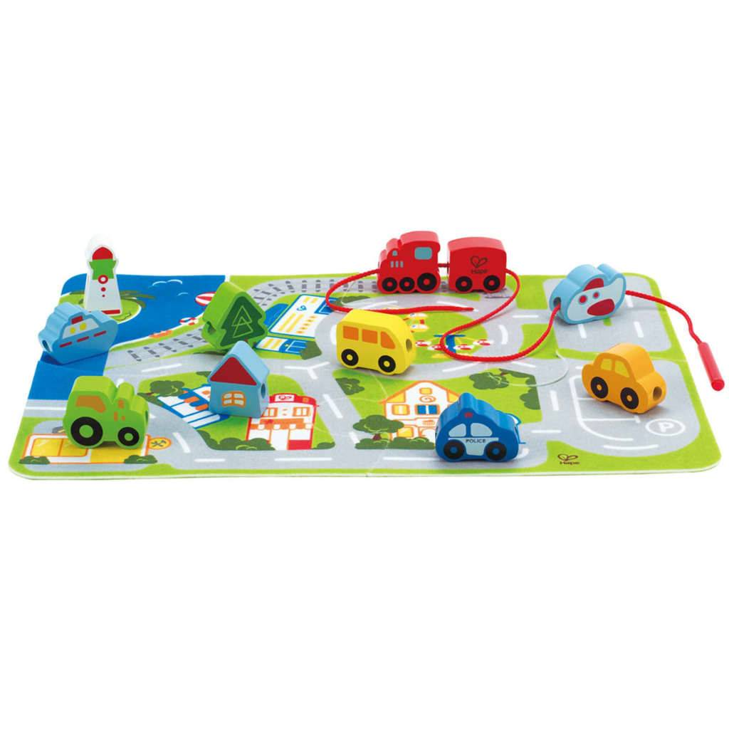 Hape Set de jeu Busy City E1022