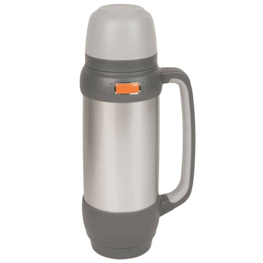 Camp Gear Bouteille thermos isolée 1 L Acier inoxydable