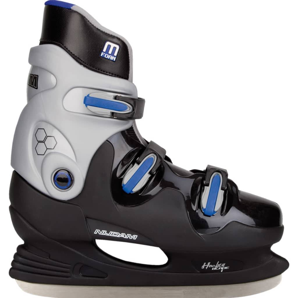 Nijdam Patins de hockey sur glace Taille 45 0089-ZZB-45