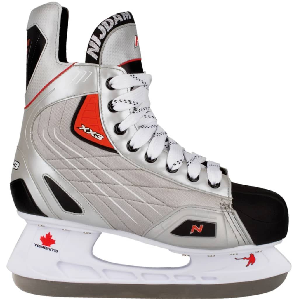 Nijdam patins de hockey sur glace polyester Pointure 46 3385-ZZR-46