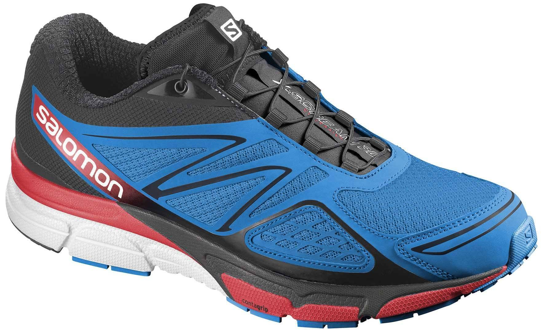 Salomon X-Scream 3 D Bleu/Noir/Rouge 10 (44 2/3)