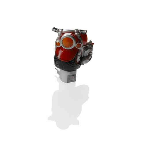 Booster Night Lamp Rouge