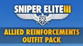 Rebellion Sniper Elite III - Allied Reinforcements Outfit Pack