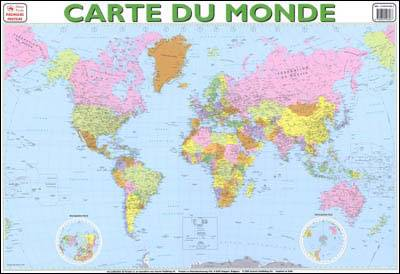 Collectif Carte du monde