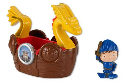 Fisher Price - Mike le chevalier - Bateau Viking